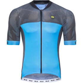 Alé Cycling Formula 1.0 Ultimate SS Jersey Herre black-sky blue